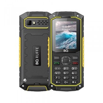 Телефон BQ M-2205 Ruffe Black Green - GPS Партизан г. Екатеринбург